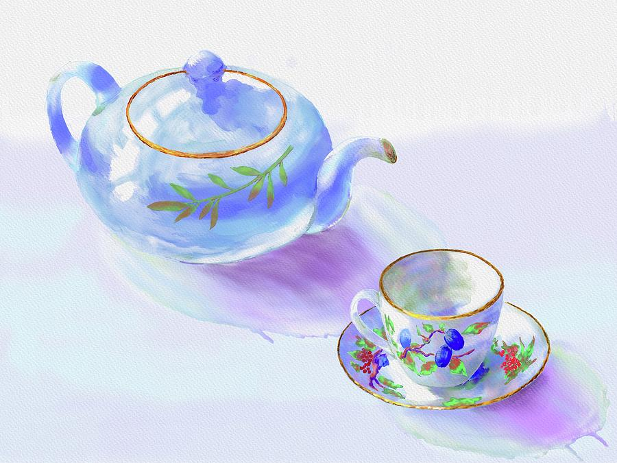 Tea Time by Xavier Francois