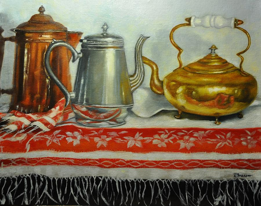 Tea Trio by Valerie Bassett