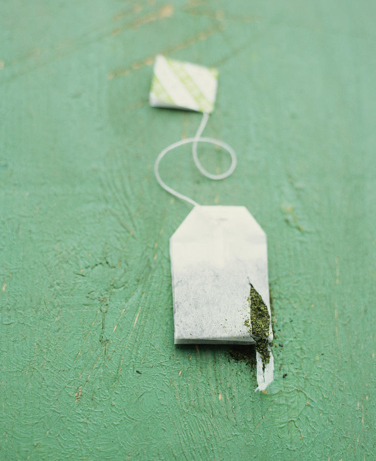 Teabag With Hole Photograph by Jessica Boone