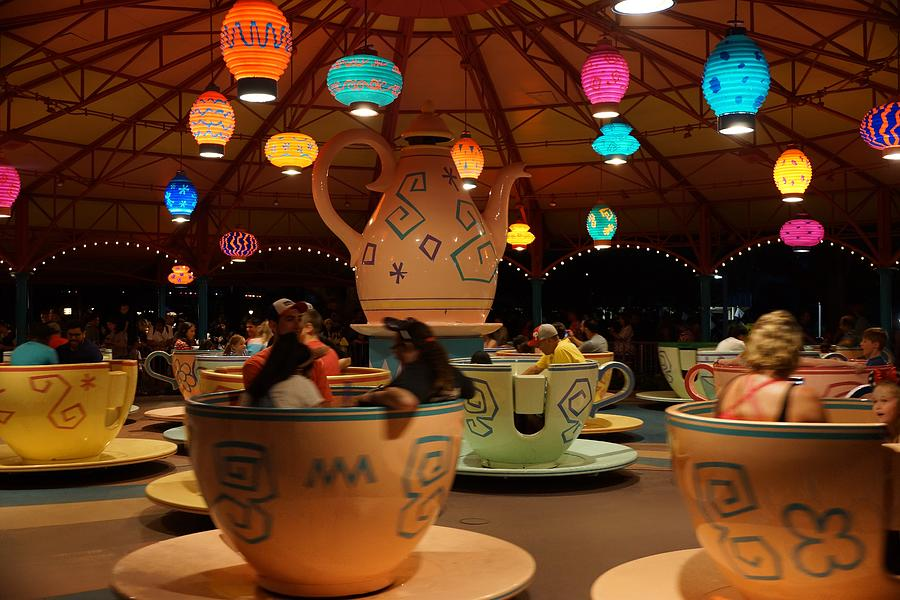 Teacups by Rodney Lee Williams