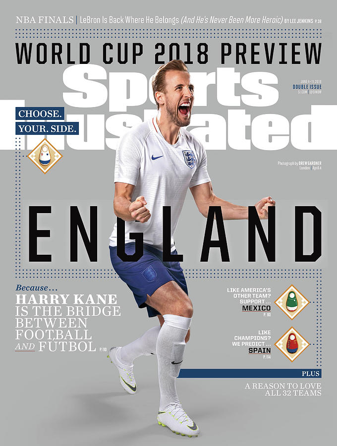 Team England Harry Kane, World Cup 2018 Preview Sports Illustrated Cover Photograph by Sports Illustrated