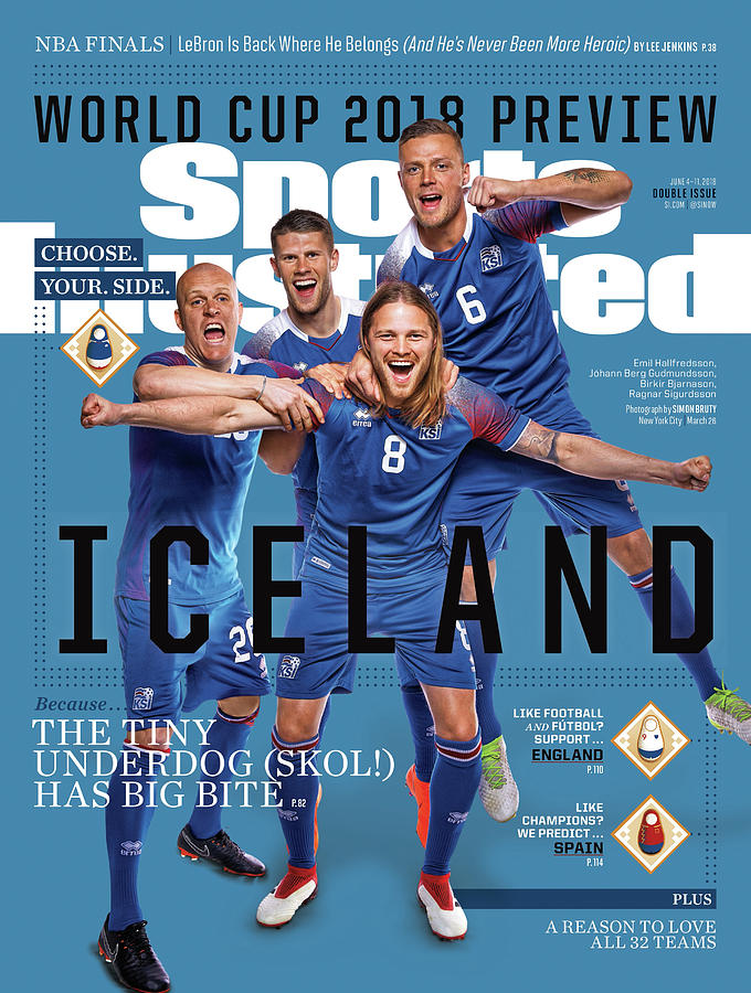 Team Iceland, World Cup 2018 Preview Sports Illustrated Cover Photograph by Sports Illustrated