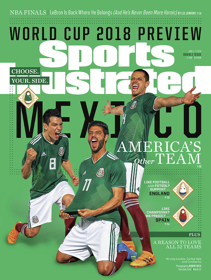 Team Mexico, World Cup 2018 Preview Sports Illustrated Cover Photograph by Sports Illustrated
