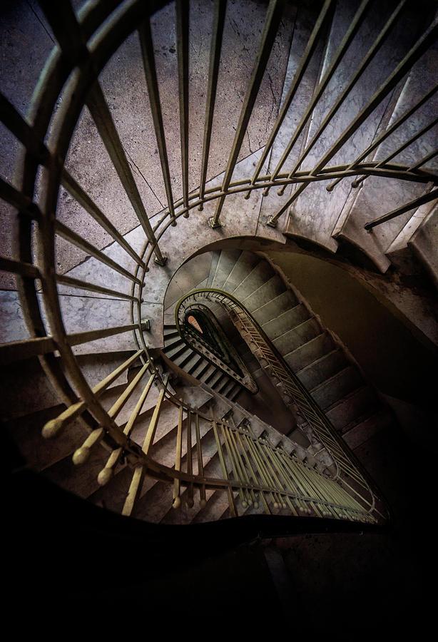 Teadrop Staircase by Jaroslaw Blaminsky