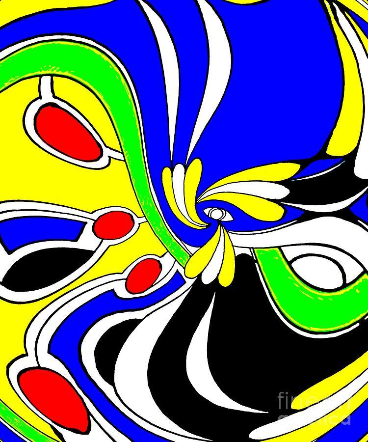 Abstract Digital Art - Tears by Graham Roberts
