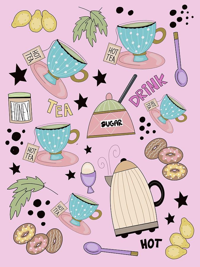 Teatime by Deborah Carrie