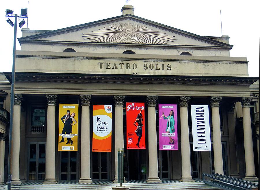 Teatro Solis, Montevideo, Uruguay by Kurt Van Wagner