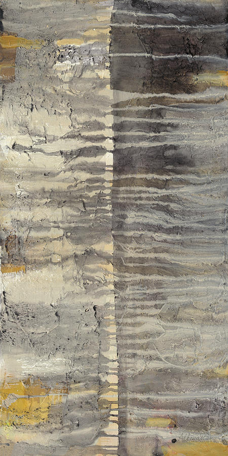 Abstract Painting - Tectonic II by Albena Hristova