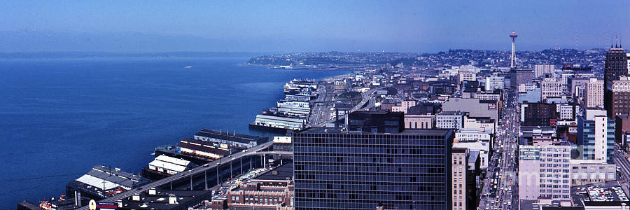 Ted Griffins Seattle Public Aquarium  Trident Imports on Pier  56 by Mr Pat Hathaway Archives