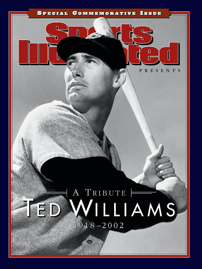 Ted Williams A Tribute, 1918-2002 Sports Illustrated Cover Photograph by Sports Illustrated