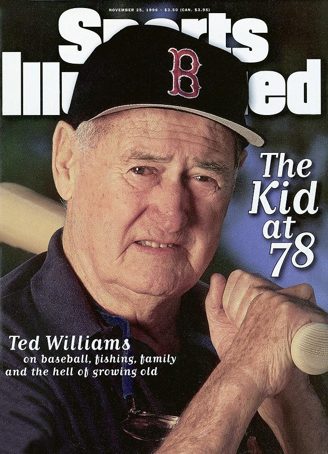 Ted Williams, Baseball Sports Illustrated Cover Photograph by Sports Illustrated