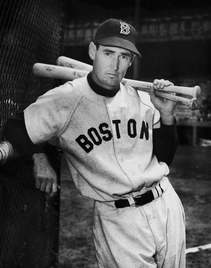 Ted Williams Photograph by Fpg