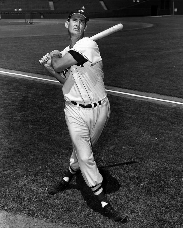Ted Williams Photograph by Hulton Archive