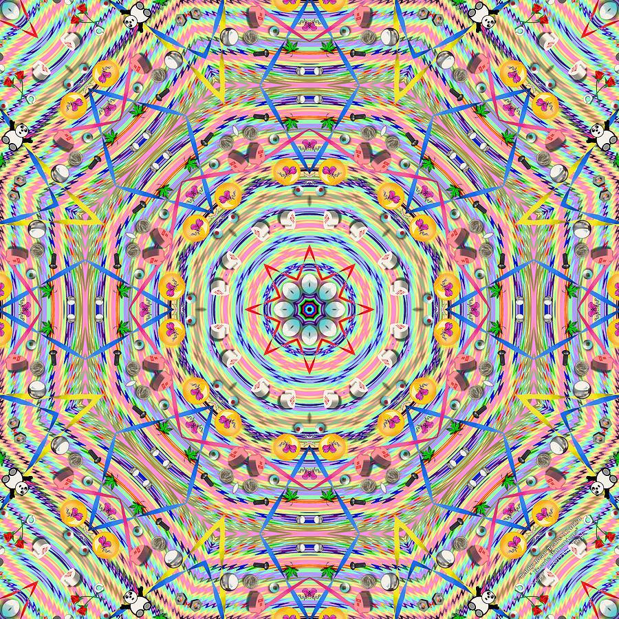 Teddy Bear Digital Art - Teddy Bear Tears 1146k8 by Brian Gryphon
