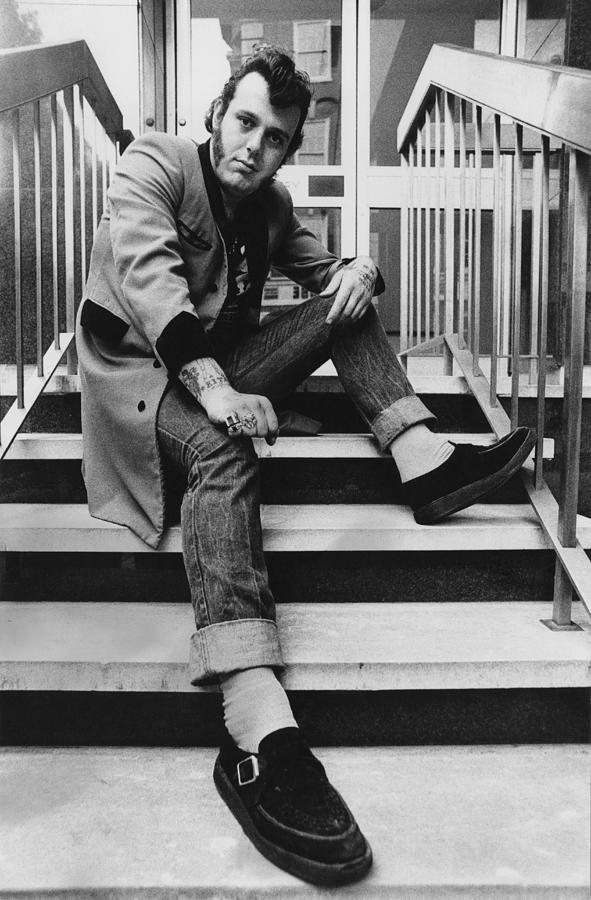 Teddy Boy Photograph by Evening Standard