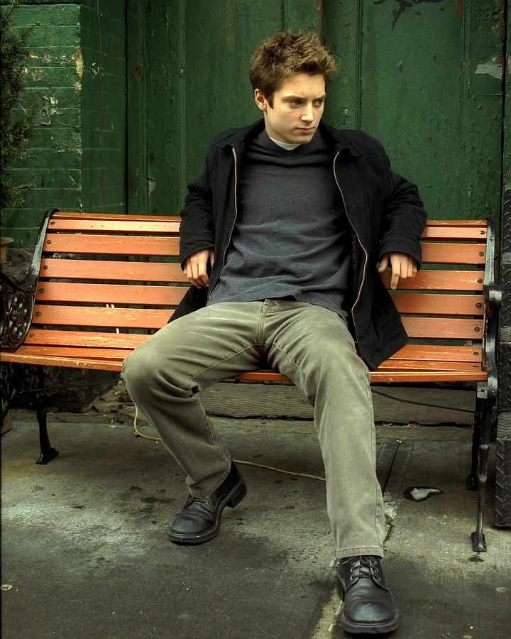 Teenage Actor Elijah Wood Poses On West Photograph by New York Daily News Archive