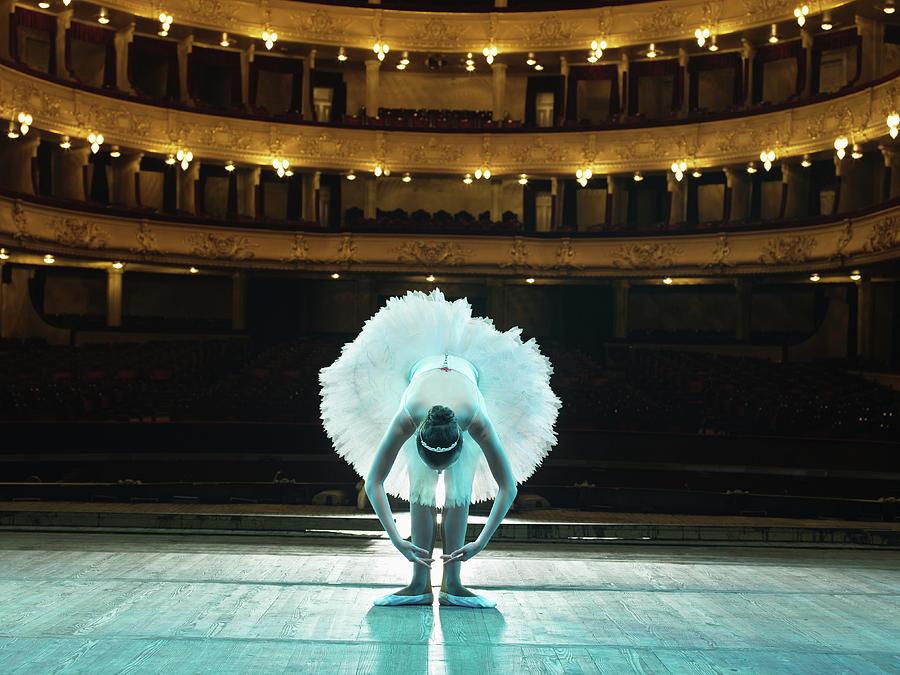 Teenage Ballerina 14-15 On Stage Photograph by Hans Neleman