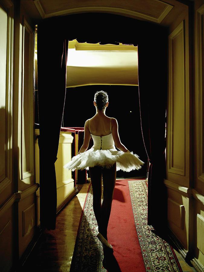 Teenage Ballerina 14-15 Waiting In Photograph by Hans Neleman