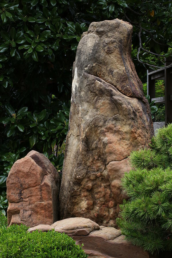 Large and Small Standing Stones by Debi Dalio