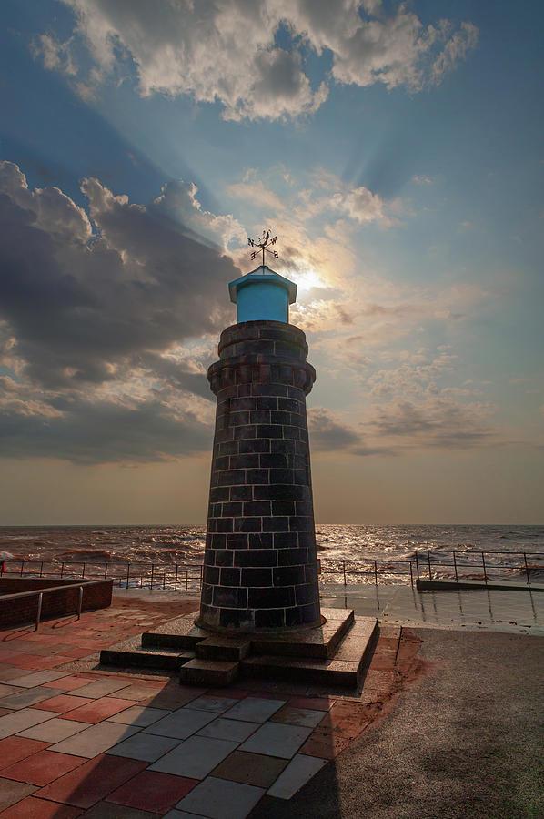 Lighthouse Photograph - Teignmouth Lighthouse by A J Paul