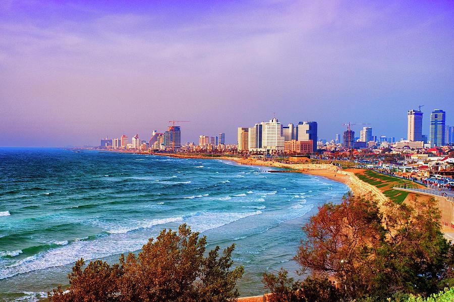 Tel Aviv City View Photograph by Audun Bakke Andersen
