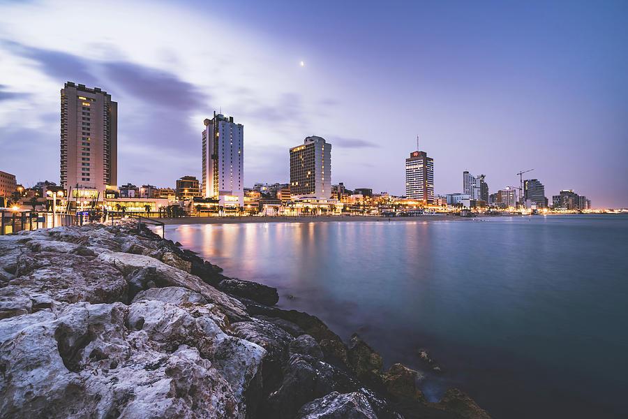 Tel Aviv Oceanfront by Mati Krimerman
