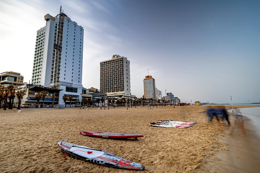 Tel Aviv surfboards by Mati Krimerman