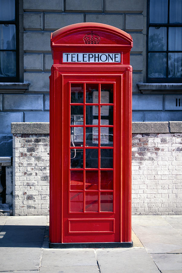 Telephone Booth, London, England Photograph by Brand X Pictures