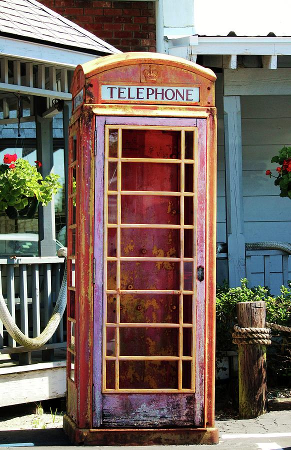 Telephone Box by Cynthia Guinn