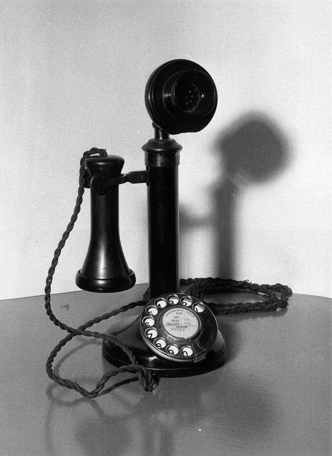 Telephone Photograph by Fox Photos