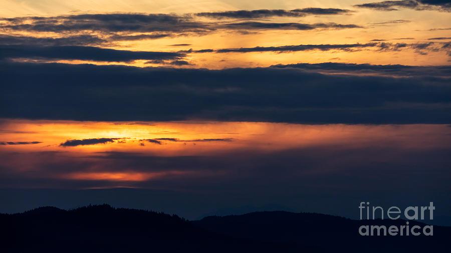 Telephoto Sunset by Alma Danison