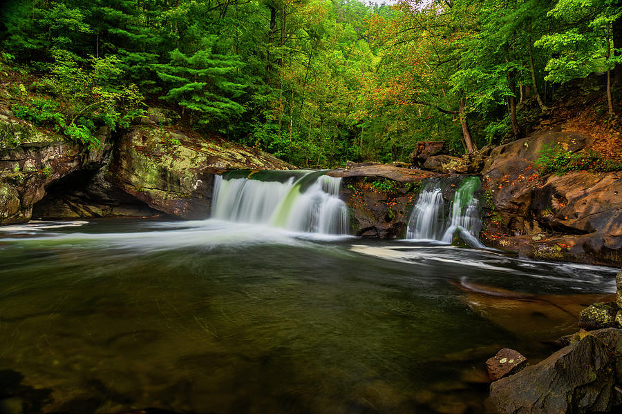 Tellico River Baby Falls by Andy Crawford