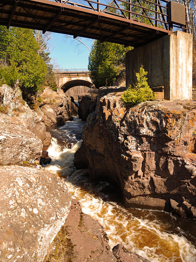 Peterson Photograph - Temperance Bridges by James Peterson