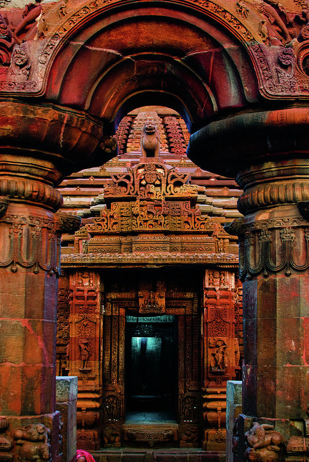 Temple Doors Photograph by Arti Agarwal