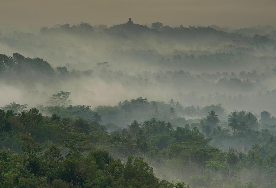 Temple In The Mist by Karsten Wrobel