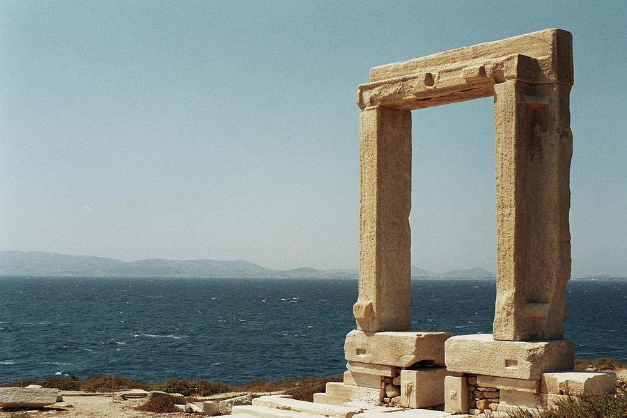 Temple Of Apollo In Naxos, Greece Photograph by Deimagine