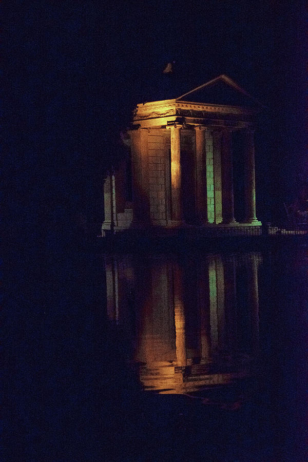 Italia Photograph - Temple Of Asclepius by Joseph Yarbrough