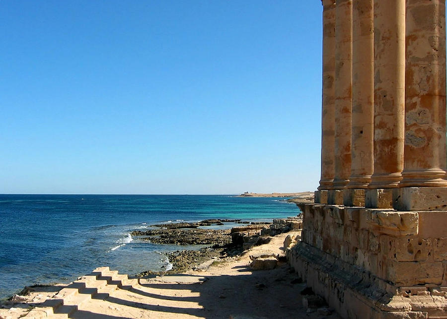Temple Of Isis, Sabratha, Libya Photograph by Joe & Clair Carnegie / Libyan Soup