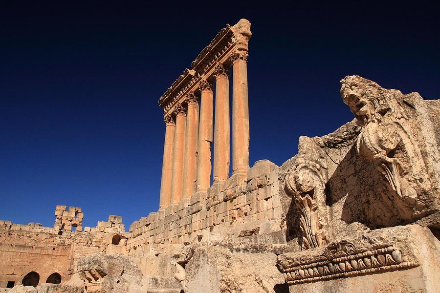 Temple Of Jupiter, Baalbek, Lebanon Photograph by Yeowatzup