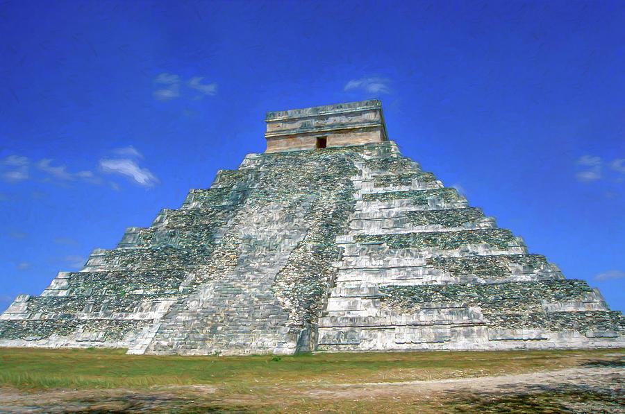 Temple of Kukulcan 2 by Roy Pedersen