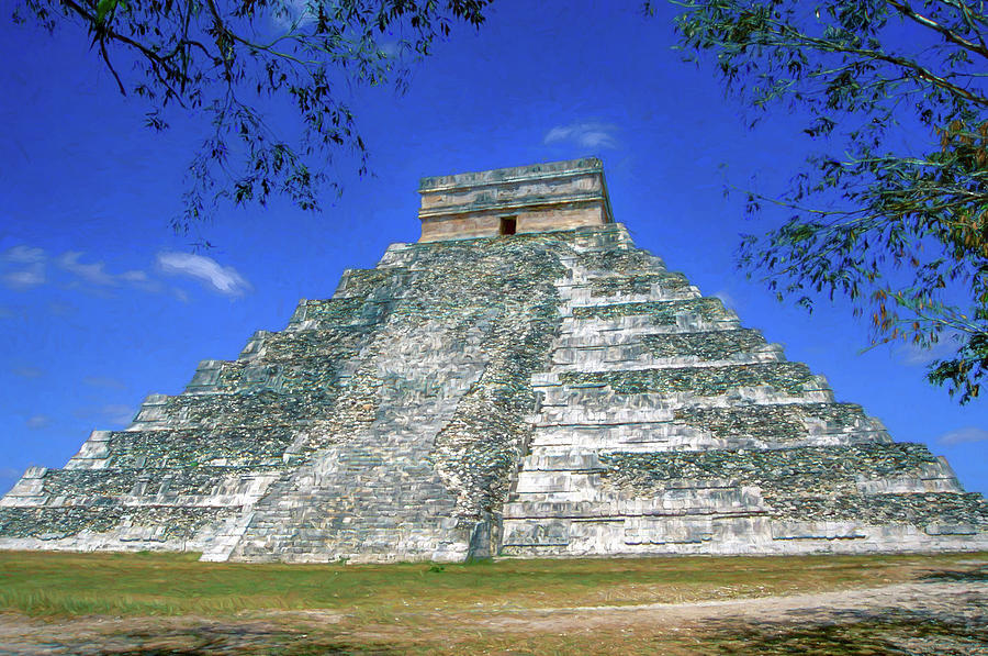 Temple of Kukulcan by Roy Pedersen