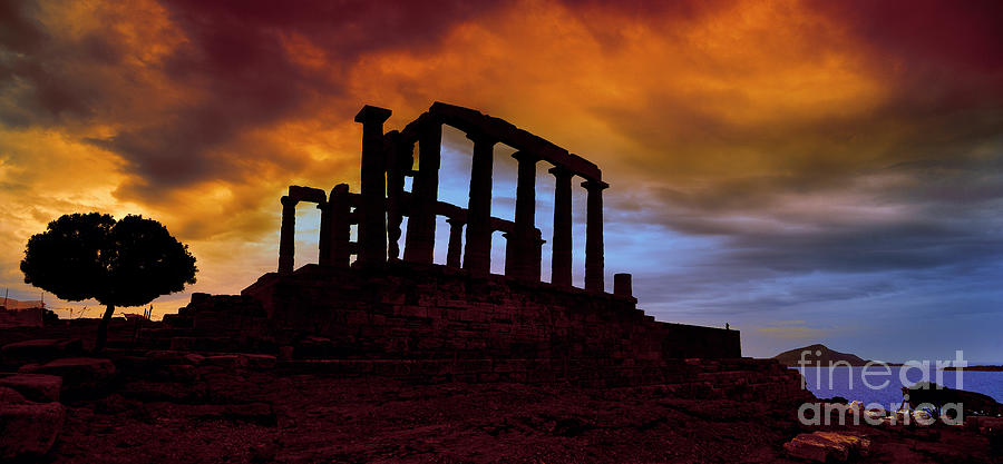 Temple Ruins, Acropolis, Greece Photograph by Ana Tramont