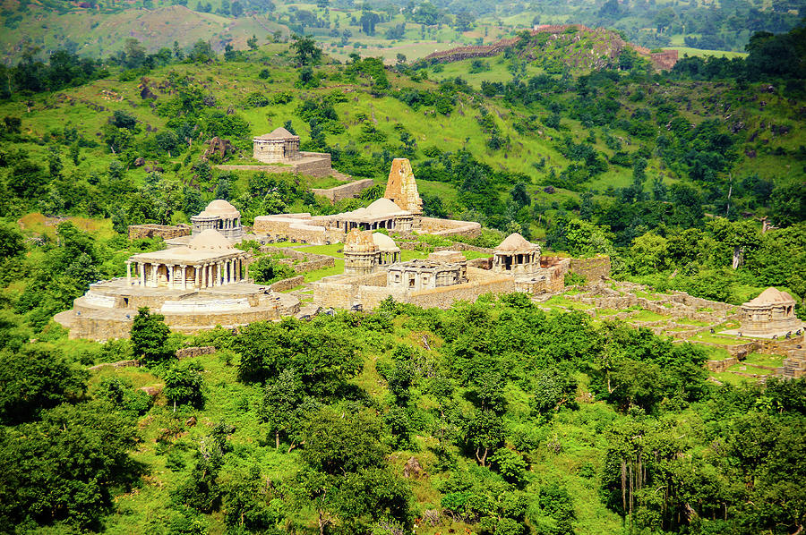 Temples Of Kumbhalgarh Photograph by Joerg Reichel