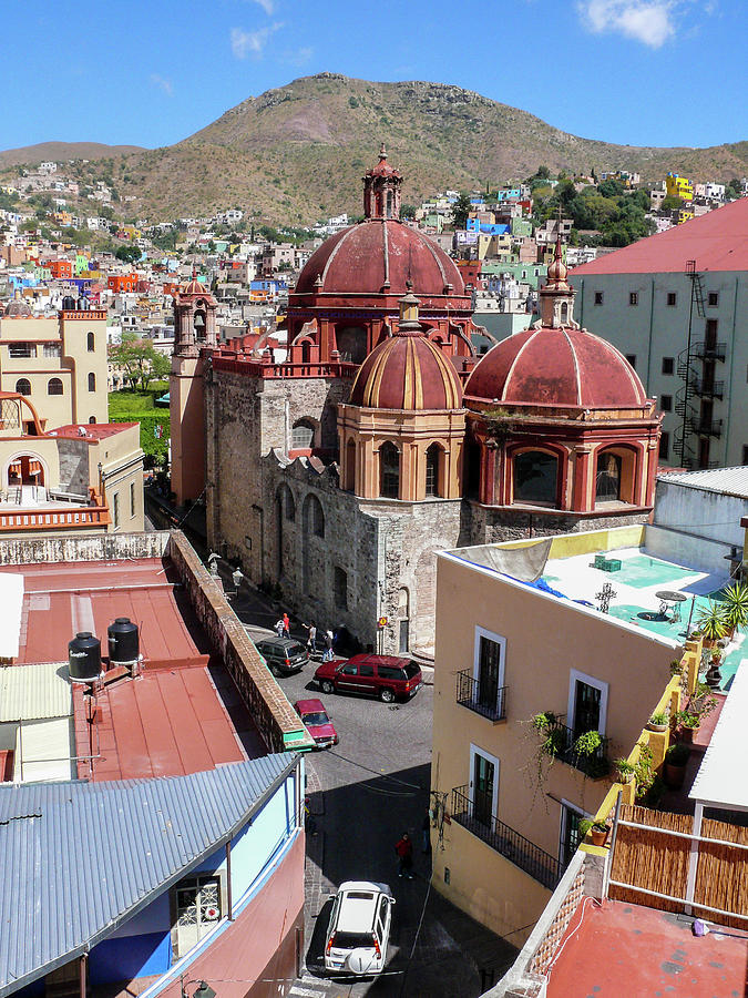 Templo De San Diego, Guanajuato, Mexico Photograph by Photograph By Andrew Griffiths