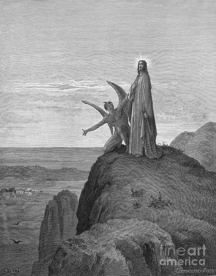 Temptation Of Jesus Photograph by Bettmann