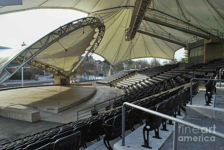 Knoxville Photograph - Tennessee Amphitheater 2 by Phil Perkins