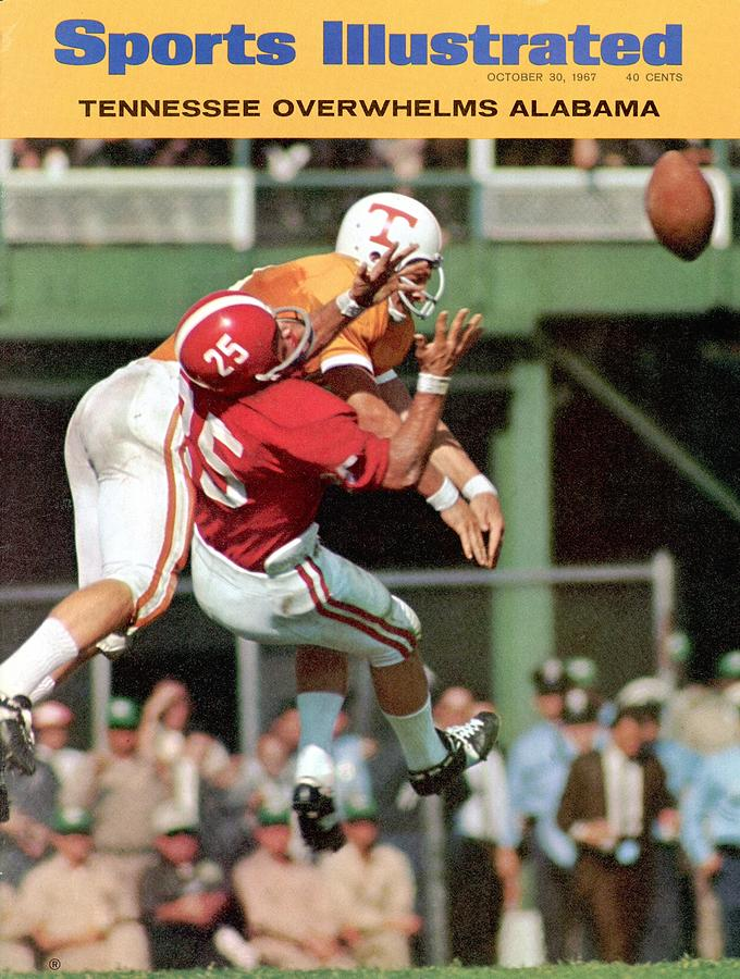 Tennessee Jim Weatherford... Sports Illustrated Cover Photograph by Sports Illustrated
