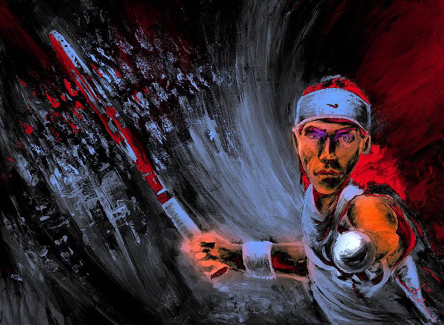 Tennis Game 01 by Miki De Goodaboom