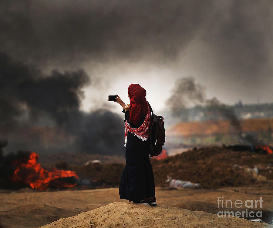 Tensions In Gaza Remain High Photograph by Spencer Platt