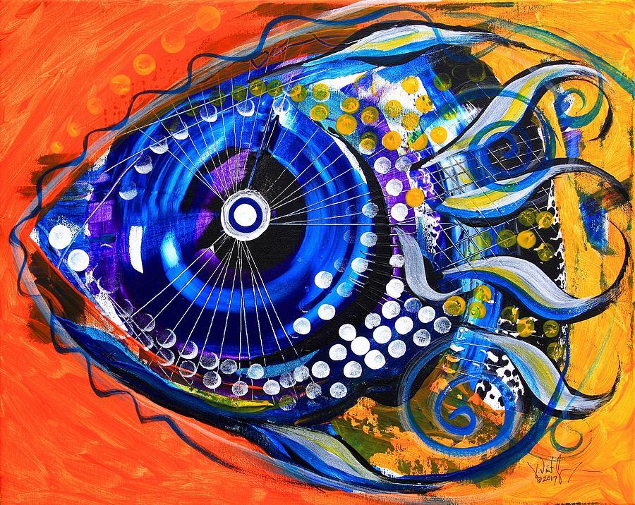 Tenured Acrimonious Fish by J Vincent Scarpace